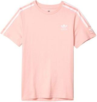 KIDS New Icon Tee (Little Kids/Big Kids). By adidas Originals Kids. 25.00. Style Glory Pink/White.