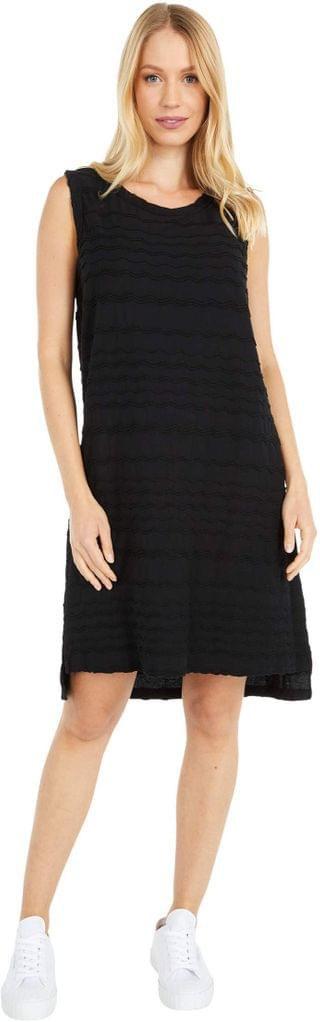 WOMEN Ocean Waves Jersey Tank Dress with Back Cutout. By Mod-o-doc. 58.50. Style Black.