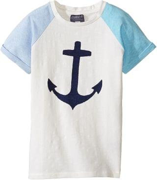 KIDS Lucky Anchor T-Shirt (Toddler/Little Kids/Big Kids). By Toobydoo. 27.20. Style Blue/White/Navy.