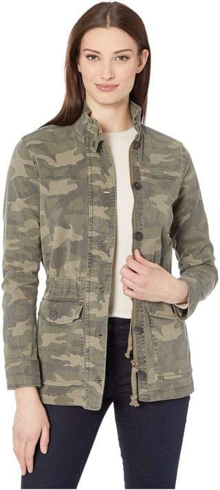 WOMEN Long Sleeve Button-Up Two-Pocket Camo Utility Jacket. By Lucky Brand. 71.40. Style Green Multi. Rated 5 out of 5 stars.