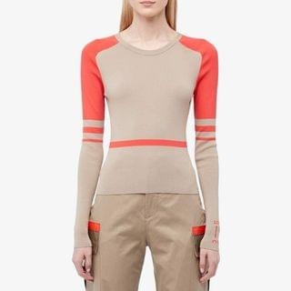 WOMEN Bicolor Pullover Knit. By artica-arbox. 646.00. Style Sand.