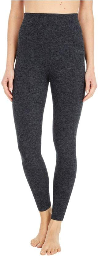 WOMEN Spacedye High Waisted Pocket Midi Legging. By Beyond Yoga. 99.00. Style Black/Charcoal. Rated 5 out of 5 stars.