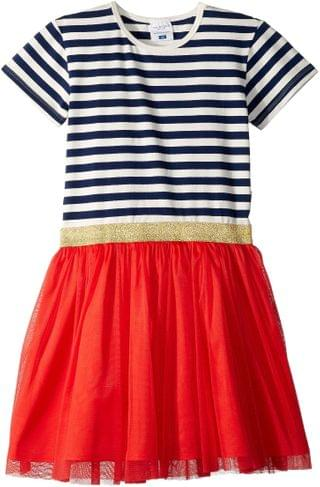 KIDS Tulle Party Dress (Toddler/Little Kids/Big Kids). By Toobydoo. 31.77. Style Navy Stripe 1. Rated 5 out of 5 stars.