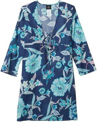 WOMEN Tropical Floral Tunic Dress. By Echo New York. 69.99. Style Navy.