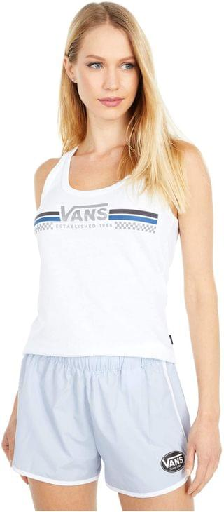 WOMEN Sporty Tour Tank Top. By Vans. 29.45. Style White.
