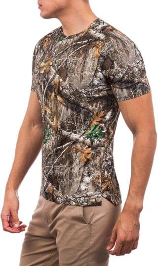 MEN Quick Dry Realtree Short Sleeve. By Hurley. 50.00. Style Edge Camo.
