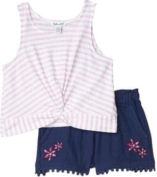 KIDS Embroidered Short Set (Toddler/Little Kids). By Splendid Littles. 48.00. Style Pink Lady.