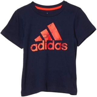 KIDS Short Sleeve Badge Of Sport Camo Tee (Toddler/Little Kids). By adidas Kids. 19.00. Style Navy.