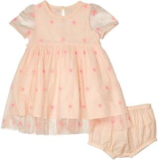 KIDS Hearts Embroidery Tulle Dress Early (Infant). By Stella McCartney Kids. 114.40. Style Pink.