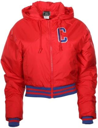WOMEN Filled Fashion Jacket. By Champion. 108.00. Style Scarlet.