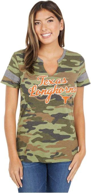 WOMEN Texas Longhorns Vanessa Tee. By 289c Apparel. 35.00. Style Camo.