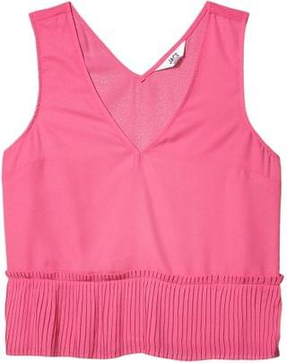 WOMEN CDC Tank with Pleats. By BB Dakota. 59.00. Style Hot Pink.