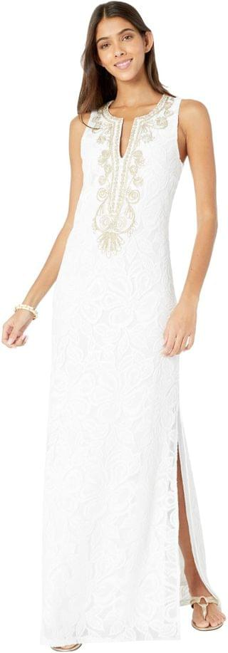 WOMEN Carlotta Maxi Dress. By Lilly Pulitzer. 248.00. Style Resort White Wildflower Stripe Lace. Rated 5 out of 5 stars.