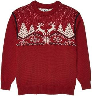 KIDS Christmas Sweater (Toddler/Little Kids/Big Kids). By Dale of Norway. 125.99. Style Red Rose/Off-White/Navy.