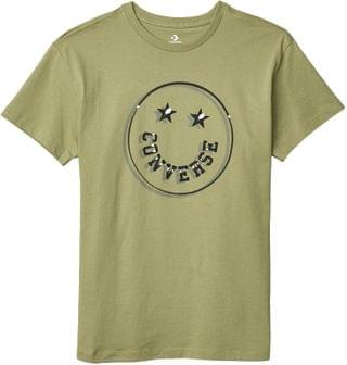 WOMEN Happy Camper Smiley Relaxed Tee. By Converse. 25.00. Style Street Sage.