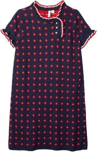 KIDS Janie and Jack - Short Sleeve Dress (Toddler/Little Kids/Big Kids)