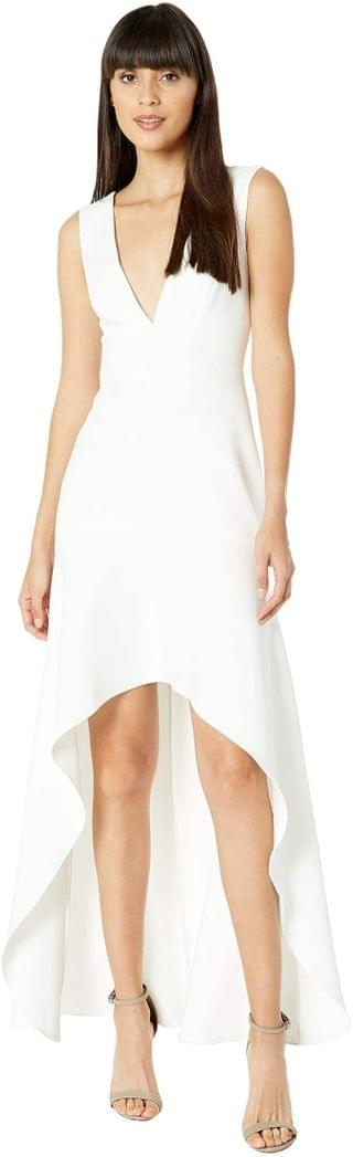 WOMEN High-Low Gown. By BCBGMAXAZRIA. 268.20. Style Off-White.