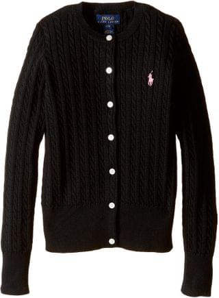 KIDS Mini Cable Sweater (Little Kids/Big Kids). By Polo Ralph Lauren Kids. 45.00. Style Polo Black. Rated 5 out of 5 stars.