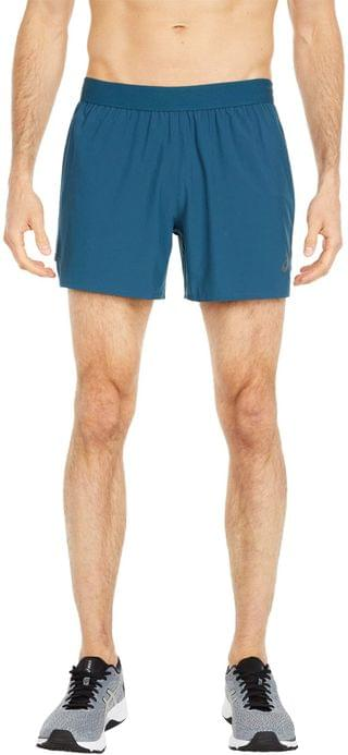 """MEN Road 5"""" Shorts. By ASICS. 40.00. Style Magnetic Blue. Rated 4 out of 5 stars."""