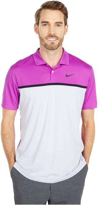 MEN Dry Victory Polo CB. By Nike Golf. 55.00. Style Vivid Purple/Sky Grey/Black/Black. Rated 5 out of 5 stars.