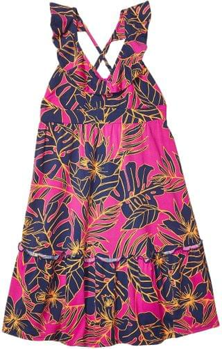 KIDS Stargazer Short Dress Cover-Up (Toddler/Little Kids/Big Kids). By Maaji Kids. 53.10. Style Hibiscus Pink Floral.
