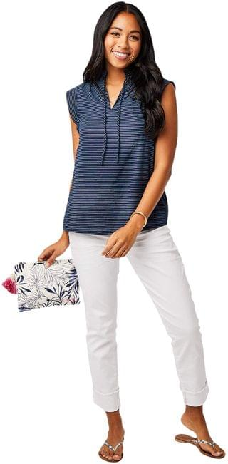 WOMEN Larkin Shirt. By Carve Designs. 57.95. Style Navy Bayside. Rated 5 out of 5 stars.