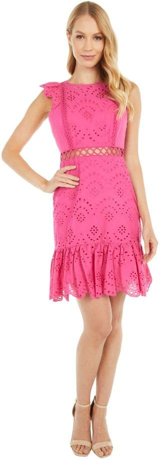WOMEN Eyelet Dress. By Sam Edelman. 66.60. Style Hot Pink.