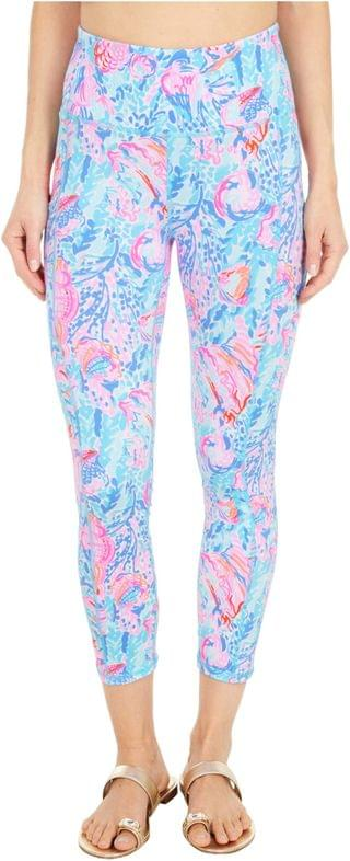 WOMEN UPF 50+ High-Rise Leggings. By Lilly Pulitzer. 108.00. Style Multi Treasure Trove. Rated 5 out of 5 stars.