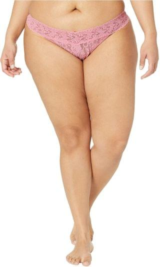 WOMEN Plus Size Signature Lace Original Rise Thong. By Hanky Panky. 16.10. Style Pink Lady. Rated 5 out of 5 stars.