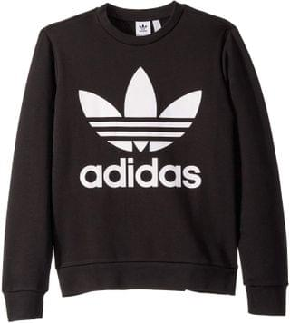 KIDS Trefoil Crew Sweater (Little Kids/Big Kids). By adidas Originals Kids. 45.00. Style Black/White. Rated 5 out of 5 stars.