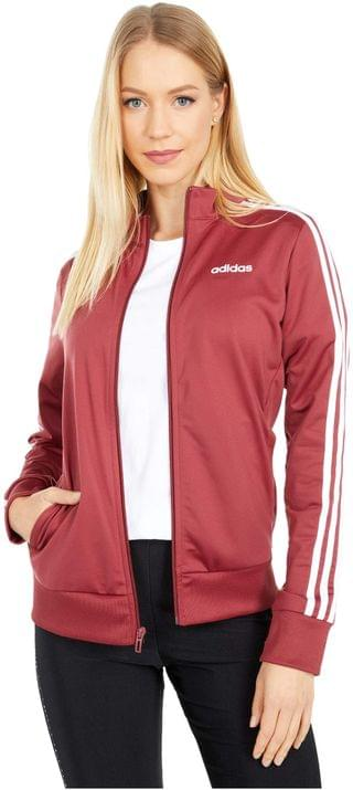 WOMEN Essential 3-Stripes Tricot Jacket. By adidas. 49.95. Style Legacy Red. Rated 4 out of 5 stars.