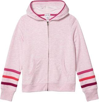 KIDS Heathered Stripe Hoodie Jacket (Big Kids). By Splendid Littles. 54.00. Style Pink Lady.