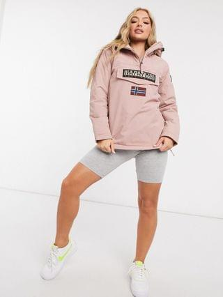 WOMEN Napapijri Rainforest Winter 4 jacket in pink