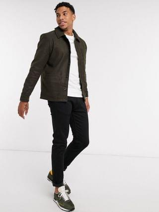 New Look workwear jacket in khaki