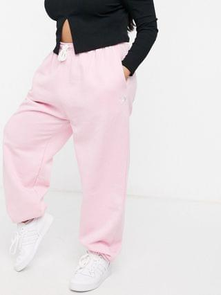 WOMEN Daisy Street Plus coordinating relaxed sweatpants with yin yang embroidery in pastel