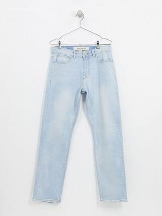 New Look slim washed jeans in blue