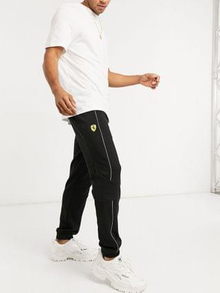 Puma Ferrari sweat pants in black