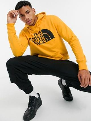 The North Face Half Dome pullover hoodie in yellow