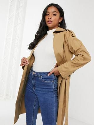 WOMEN Fashion Union Petite trench coat
