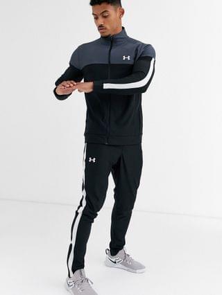 Under Armour Training pique track pants in black