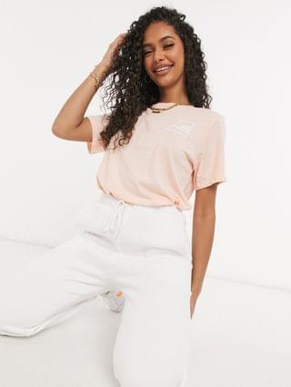 WOMEN The North Face Logo Marks t-shirt in pink