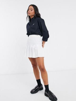 WOMEN Fred Perry oversized mensy oxford shirt in navy