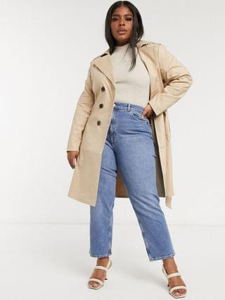 WOMEN Fashion Union Plus trench coat