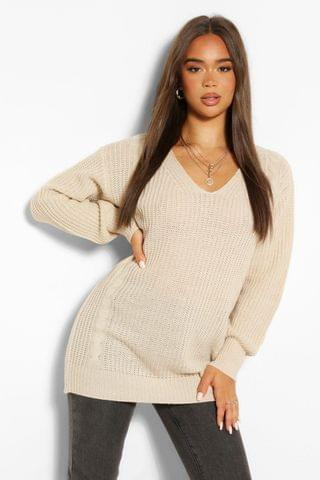 WOMEN Cable Knit Oversized Jumper