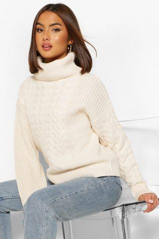 WOMEN Cable Knit Jumper