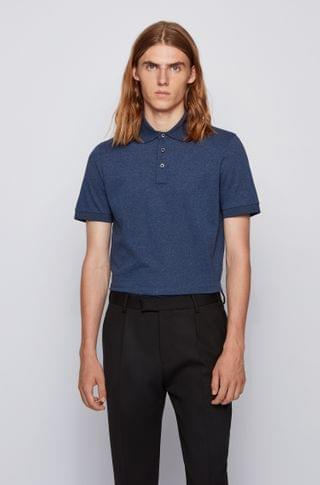 MEN Moulin polo shirt with structured trims