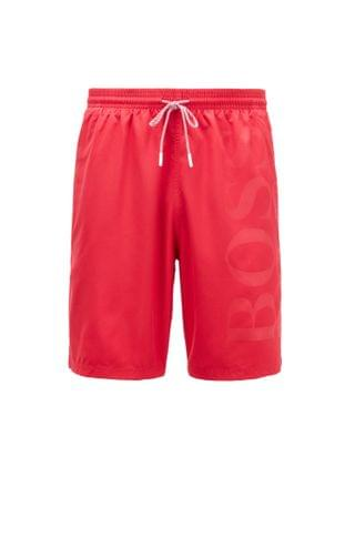 MEN Swim shorts in brushed technical fabric
