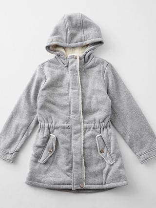KIDS Urban Expressions Girls - Urban Republic Hooded Trench Coat