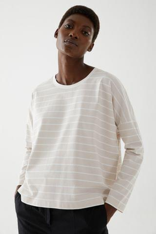 WOMEN RELAXED COTTON TOP