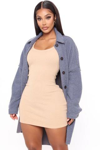 WOMEN Set The Trend Coat - Grey